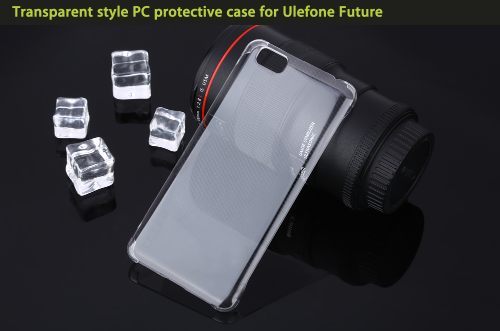 OCUBE Transparent PC Phone Back Case for Ulefone Future Ultra Thin Mobile Shell Protector