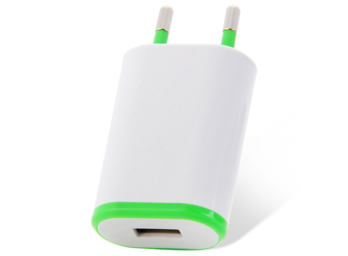 Home Wall USB Power Adapter for Home / Office / Travel