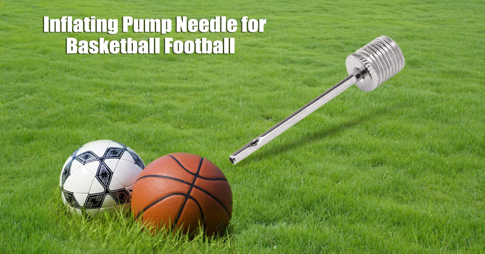 20pcs Inflating Pump Needle Adapter for Basketball Football