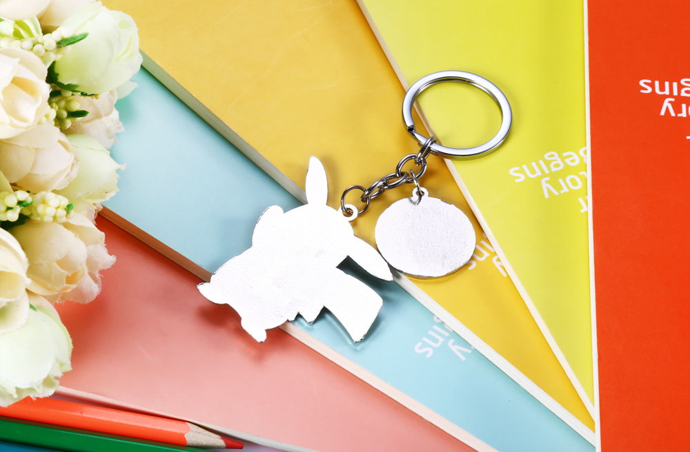 Cute Cartoon Animal Figure Key Ring for Collection Decoration