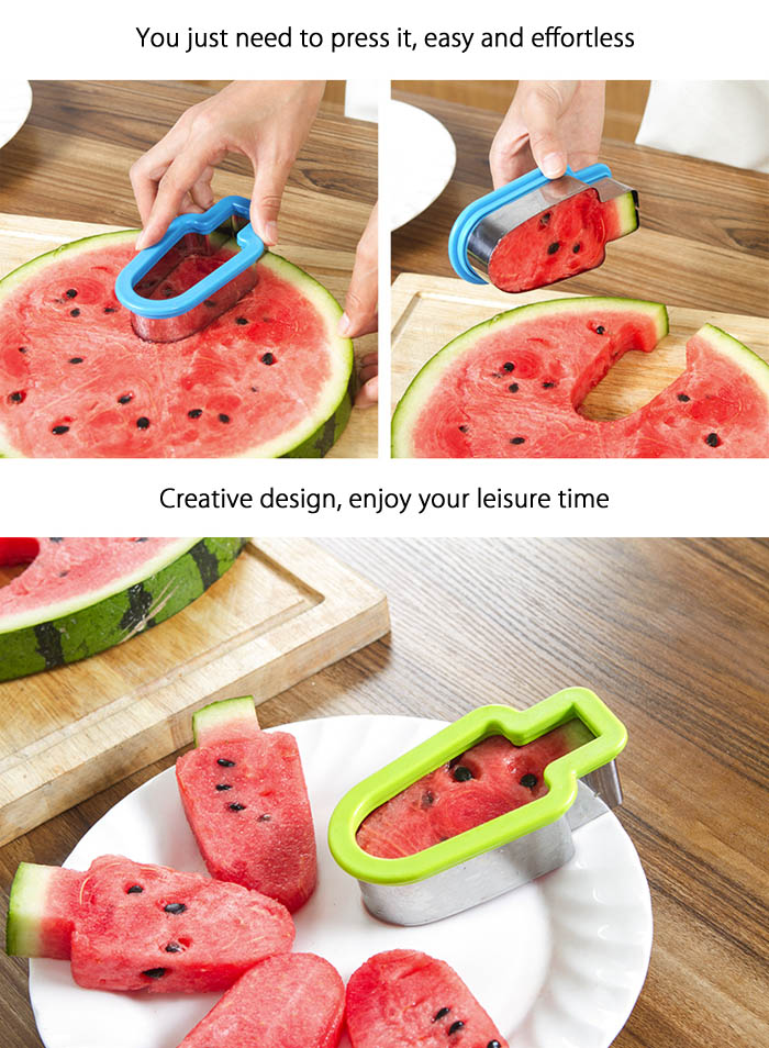 Multifunctional Watermelon Slicer Fruit Cutter Kitchen Tools