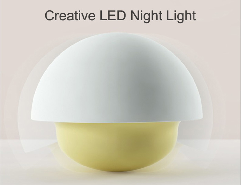 Touch Color Changing Mushroom LED Night Light Roly-poly Style Design