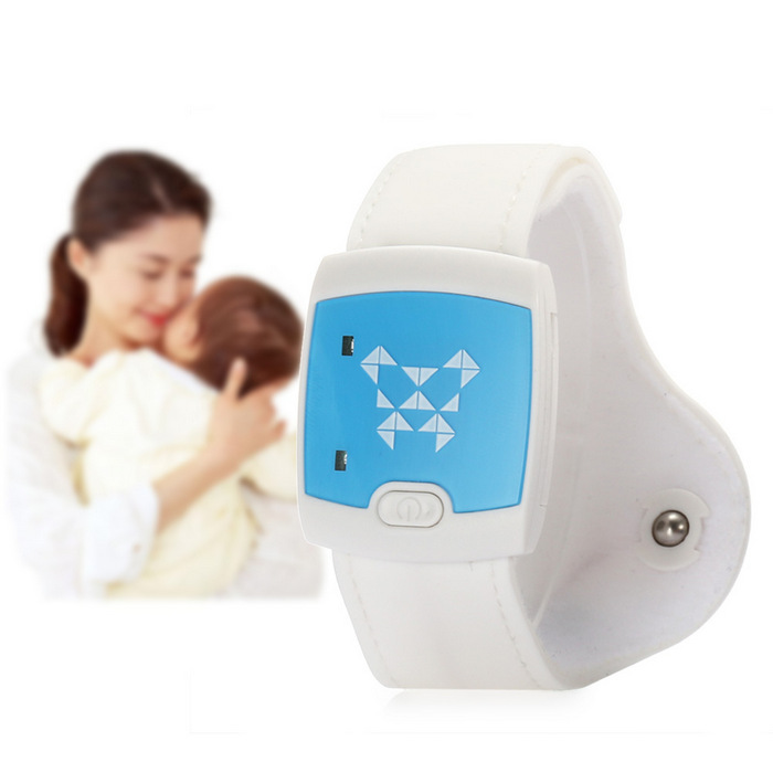 leeHUR Smart Baby Bluetooth 4.0 Thermometer Electronic Wearable Armband Bracelet Fever Monitor