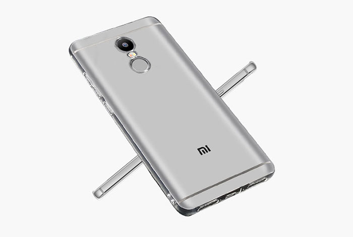 Luanke Transparent TPU Soft Case for Xiaomi Redmi Note 4 Ultra Thin Phone Protector