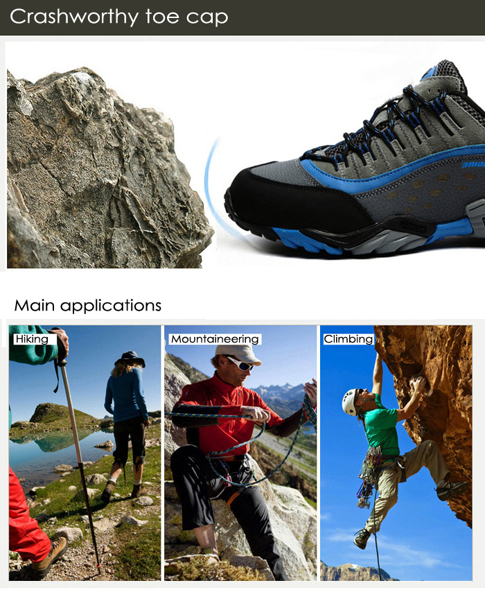 BAIDENG Mountaineering Hiking Shoes for Men
