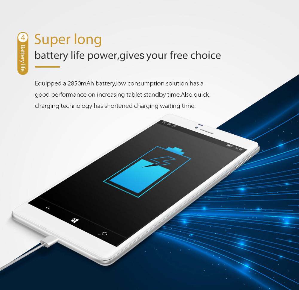 ALLDOCUBE WP10 6.98 inch 4G Phablet Windows 10 Mobile MSM8909 Quad Core 1.3GHz 2GB RAM 16GB ROM 5.0MP Rear Camera IPS Screen WiFi OTG GPS Bluetooth 4.1