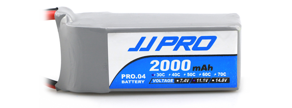Original JJRC 11.1V 3S 2000mAh 30C XT60 Plug Battery Accessory for JJPRO P175 / P200 / Falcon 210 Multirotor