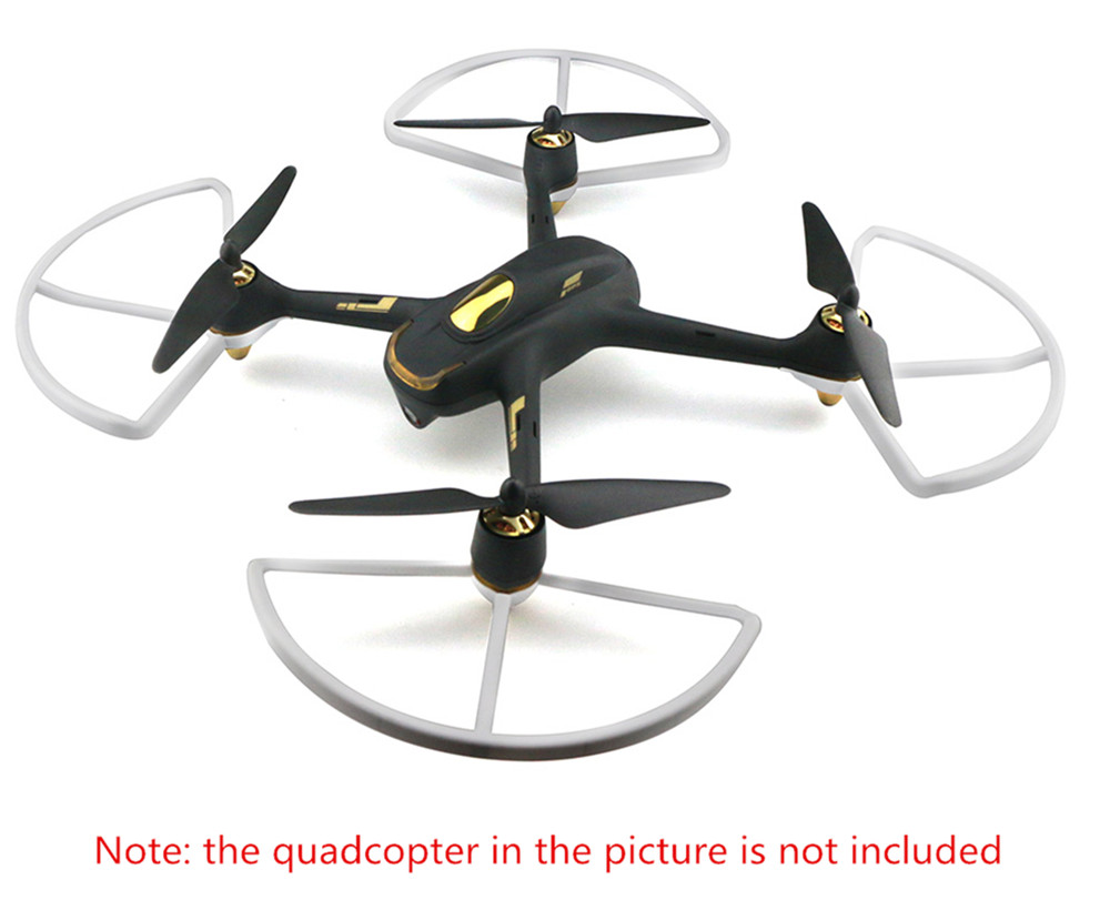 Protection Ring Accessory for HUBSAN H501S RC Drone - 4Pcs