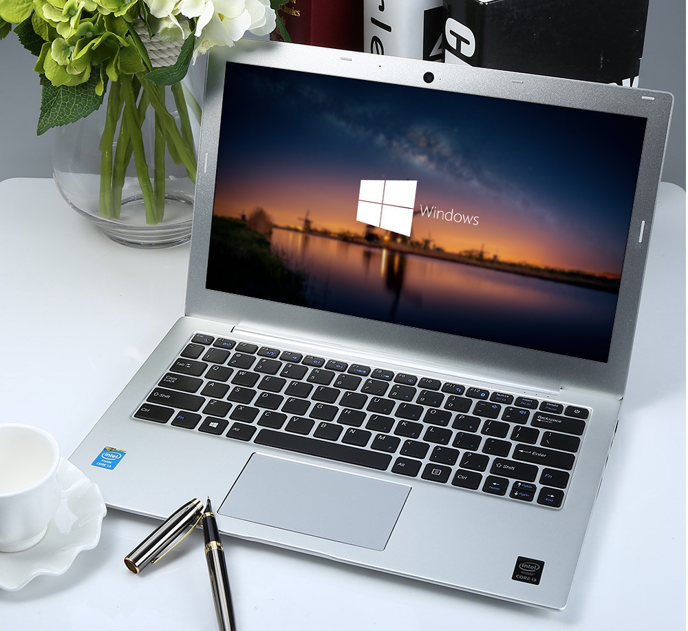 Martian A8 13.3 inch Notebook DOS OS Intel Core i3-5010U Dual Core 2.1GHz IPS Screen 128GB SSD HDMI Bluetooth 4.0 Camera