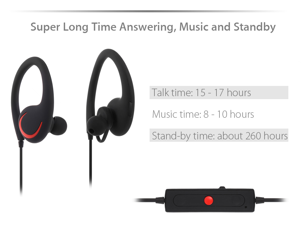 S6 Bluetooth V4.0 Headsets Apt-X Technology Super-long Stand-by Time