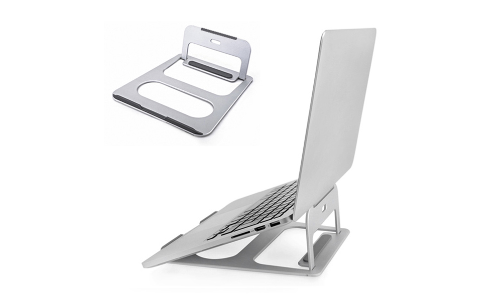 Portable Desktop Aluminum Alloy Laptop Holder for iPad MacBook Laptop