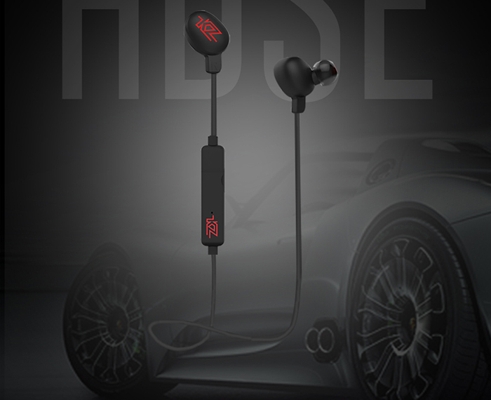 KZ HDSE Wireless Sport Noise-canceling Earbuds With Bluetooth 4.1 Built-in MIC