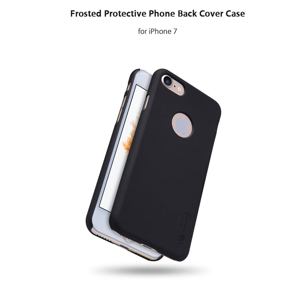 Nillkin Frosted Style PC Hard Protective Cover Case with Screen Film for iPhone 7