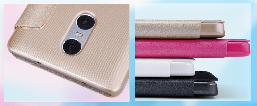Nillkin Full Body Cover Protective Case for Xiaomi Redmi Pro Auto Wake-up Sleep Function PU Leather Mobile Shell
