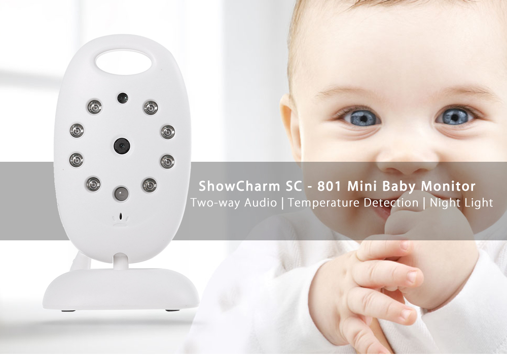 ShowCharm SC - 801 Wireless Baby Monitor 2.4 inch TFT Screen Night Vision Two-way Voice
