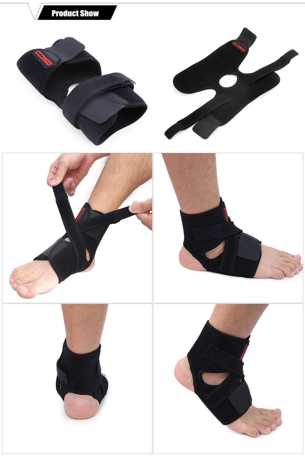 MLD LF - 1109 Crossing Ankle Support for Fitness Sports