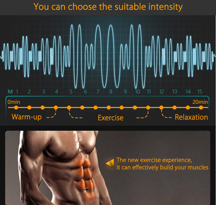 IMATE IM - 05 Muscle Training Gear Smart Body Sculpting Exercise Tools