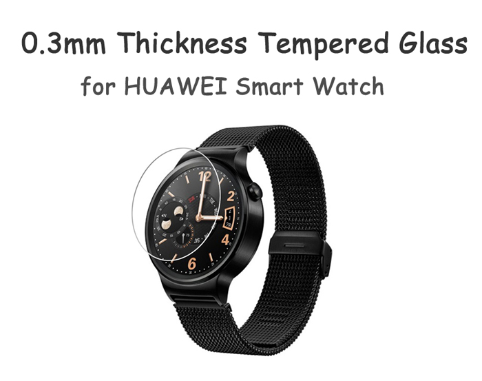 0.3mm Thickness Arc Surfaced Tempered Glass for HUAWEI Smart Watch