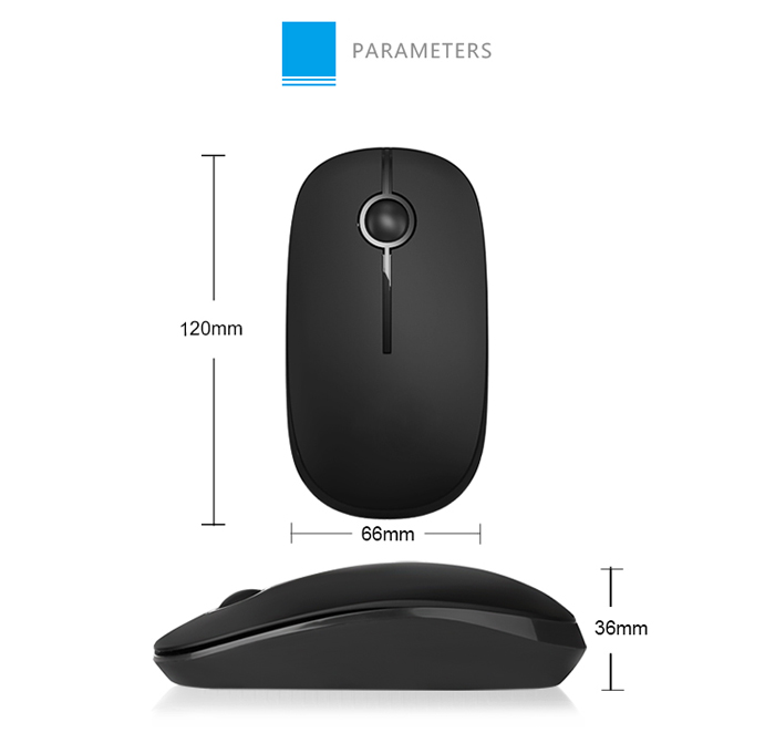 SEENDA IBM04 Wireless 2.4G Mouse with USB Receiver