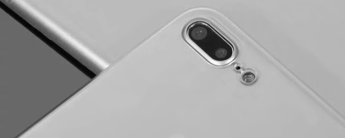 Luanke Transparent PC Hard Protective Phone Back Case for iPhone 7 Plus Ultra-thin Lightweight Mobile Shell