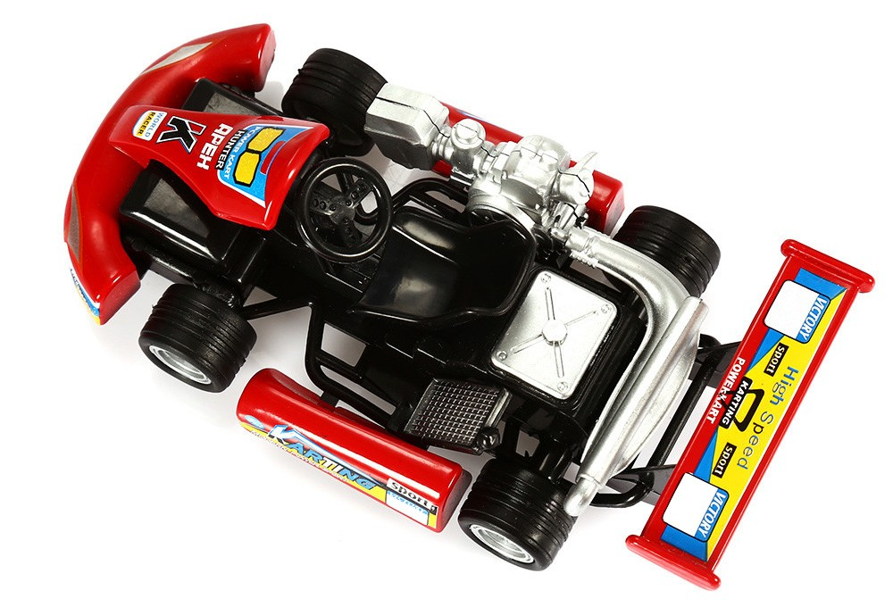 1:32 Realistic Alloy Racing Car Model with Sound Effect Pull-back Function