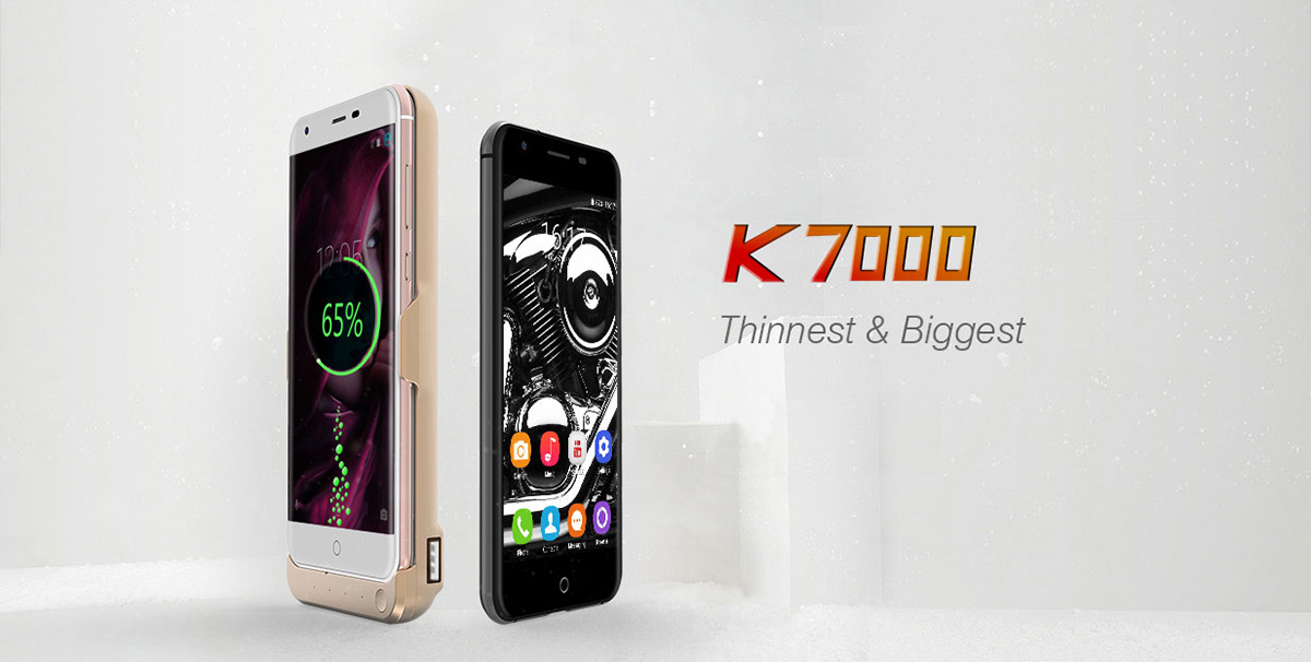 Oukitel K7000 Android 6.0 5.0 inch 4G Smartphone MTK6737 Quad Core 1.3GHz 2GB RAM 16GB ROM Fingerprint Scanner 2.5D Arc Screen Bluetooth 4.0