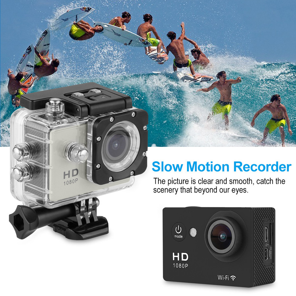 Y8 - P 2.0 inch WiFi 1080P Full HD 30M Waterproof H.264 12MP Video Action DV Sports Camera
