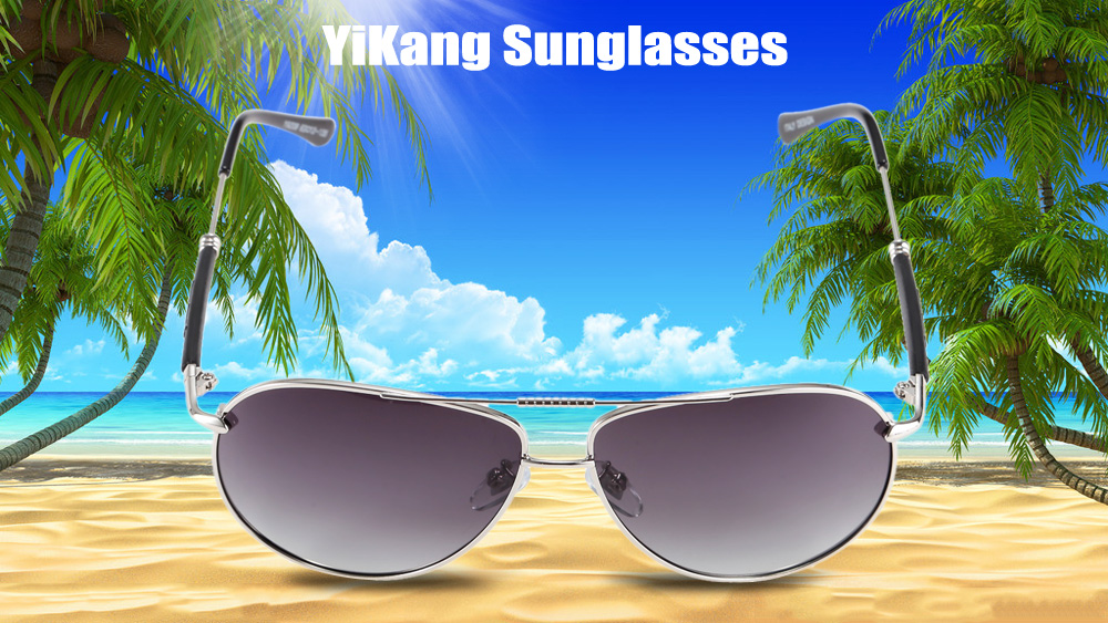 YiKang Y9209 Male Ombre Color Polarized Sunglasses with TAC Coated