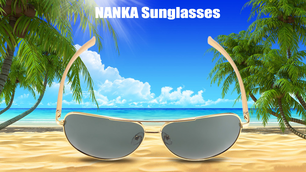 NANKA 8780 Male Polarized Sunglasses with TAC Coated