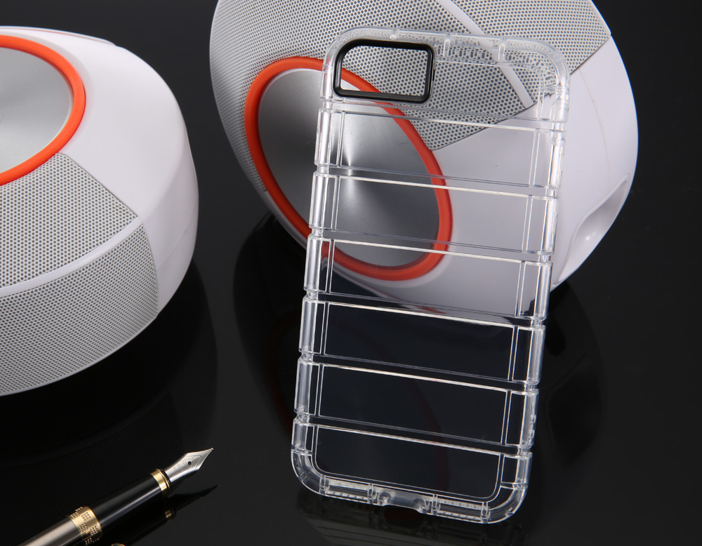Practical TPU Soft Transparent Phone Back Case for iPhone 7 Ultra-thin Anti-knock Mobile Shell Protector