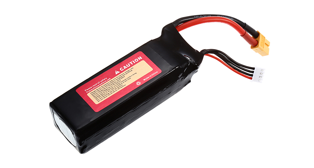 2600mAh 11.1V 3S 30C LiPo Battery with XT60 Plug for RC Cars Ships Airplanes