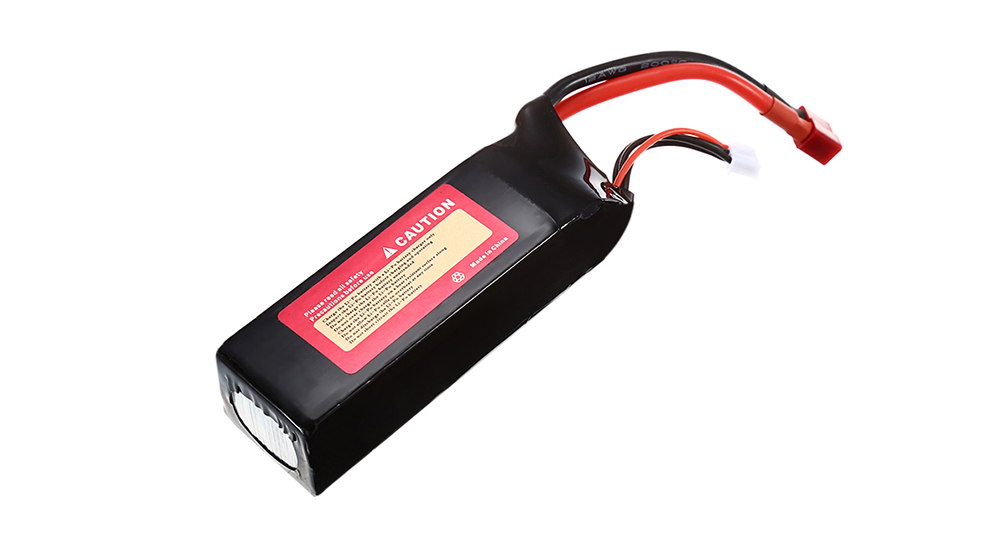 2600mAh 11.1V 3S 30C LiPo Battery with T Plug for RC Cars Ships Airplanes
