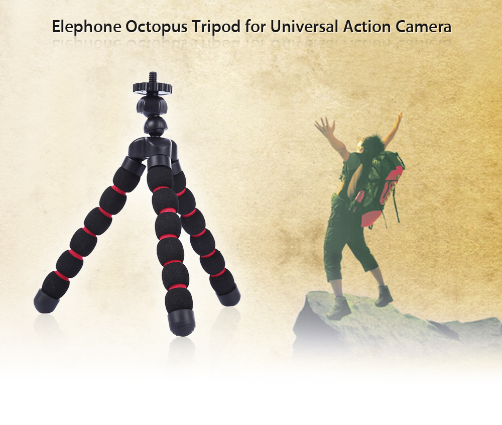 Elephone Universal Octopus Tripod Holder for Action Camera
