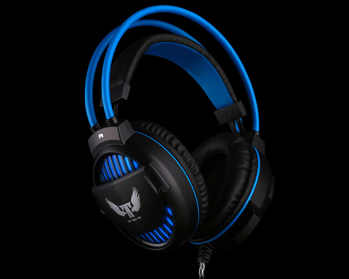 OVANN X70 - C Professional Gaming Headsets with Microphone Suspension Headband