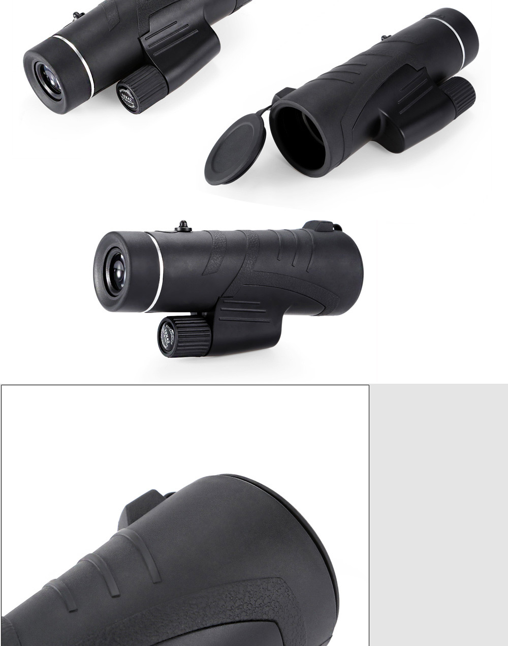 10 x 42 HD Portable Wide Angle Monocular for Outdoor Sports