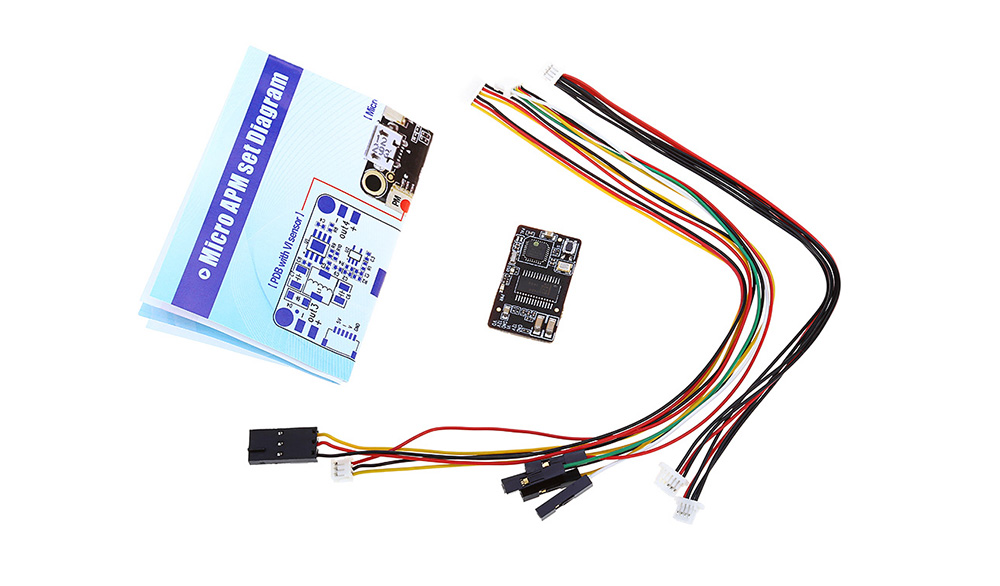 Holybro 8-bit Micro APM Flight Controller Combo Set with OSD GPS PDB Radio Telemetry