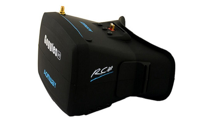 Aomway Goggles V1 40CH 5.8G Wireless 800 x 480 FPV Headset Goggles with 5 inch Monitor