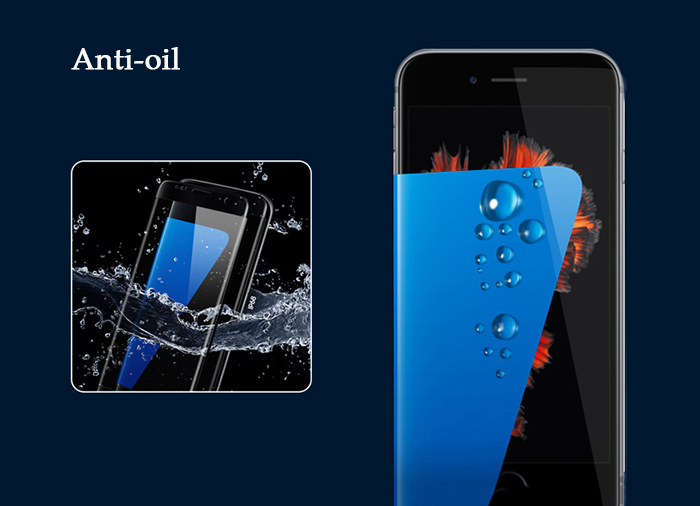 Luanke Tempered Glass Screen Protective Film for iPhone 7 0.26mm 9H Explosion-proof Membrane