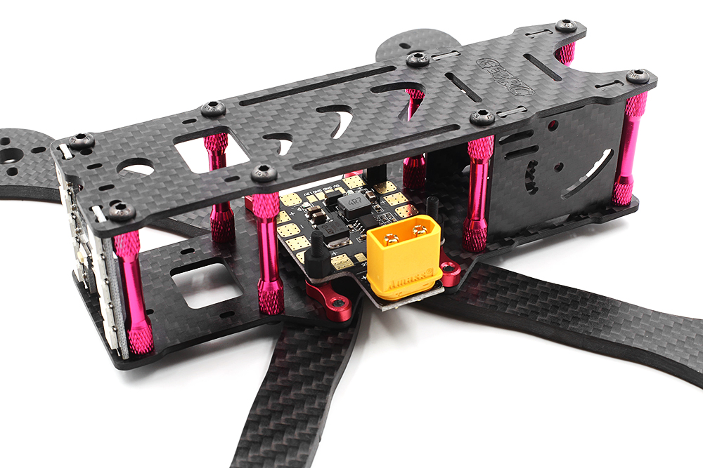 GEPRC GEP - VX5 F215 215mm Carbon Fiber DIY Frame Kit with PDB BEC XT60 Plug for RC Racing Multicopters