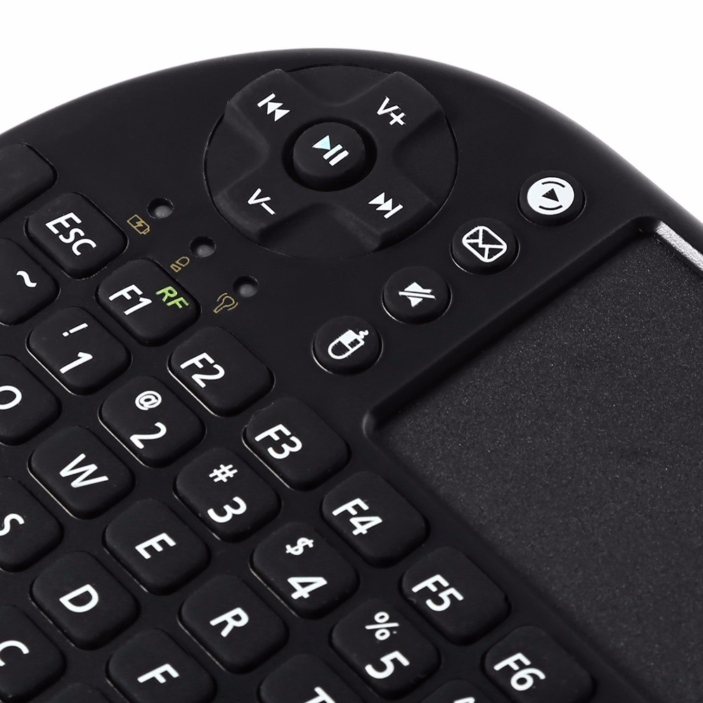 M2S Mini 2.4GHz Wireless QWERTY Keyboard Touchpad with USB Receiver