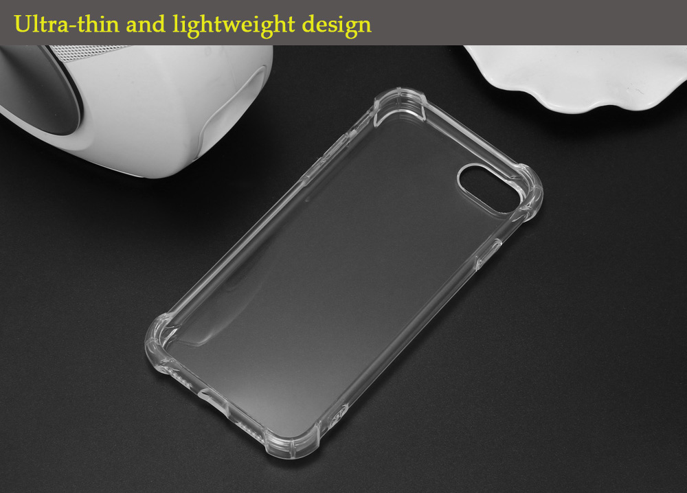 ASLING Transparent TPU Soft Protective Phone Back Case for iPhone 7 Ultra-thin Mobile Shell