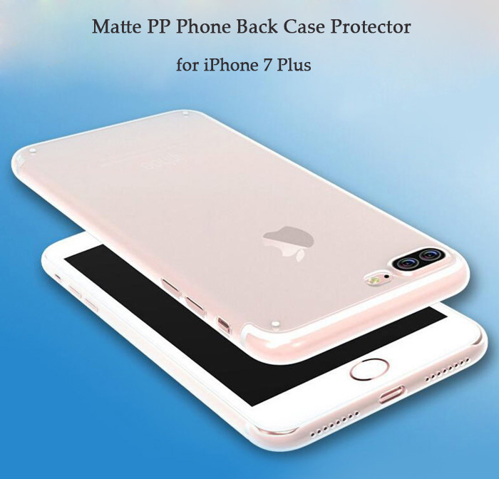 Luanke Matte Style PP Protective Phone Back Case for iPhone 7 Plus Ultra-thin Lightweight Mobile Shell