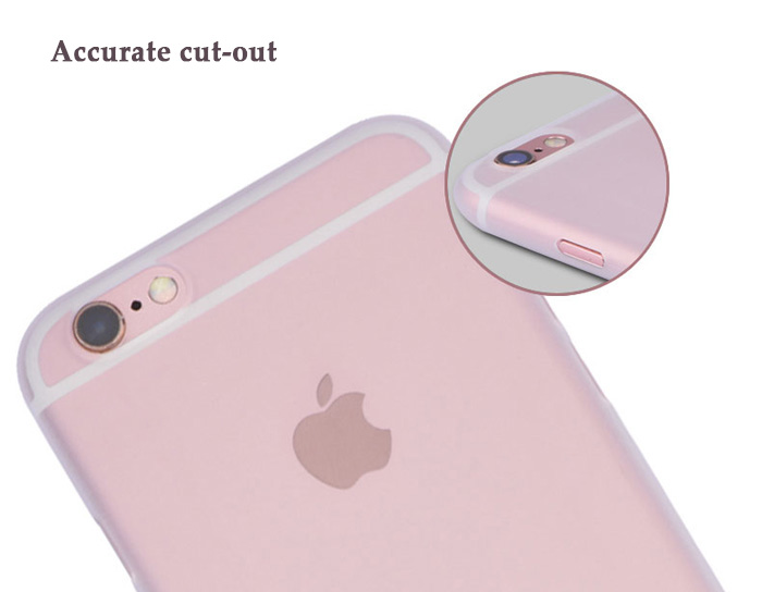 Luanke Matte Style PP Protective Phone Back Case for iPhone 7 Ultra-thin Lightweight Mobile Shell