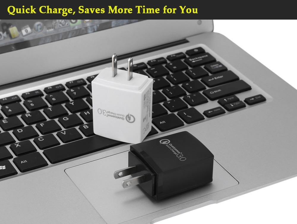 Qualcomm Certification US Standard Plug 3.0 Quick Charge Power Charger Adapter