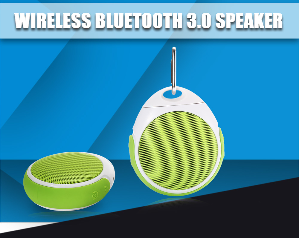 Wireless Bluetooth 3.0 Speaker Music Player Supporting Volume Control