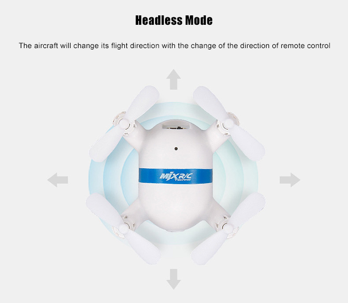 MjxR/C Technic X929H 2.4G 4CH 6-axis-gyro RC Quadcopter Air Press Height Hold / Headless Mode / Speed Switch