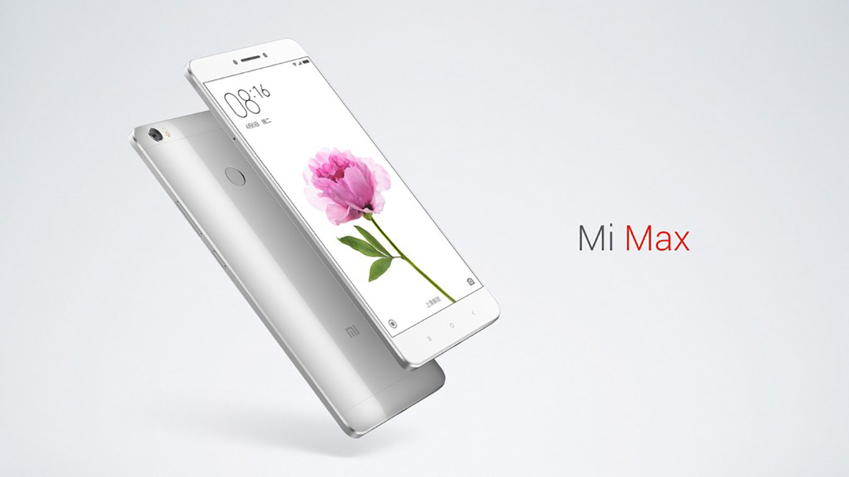 Xiaomi Mi Max 6.44 inch 4G Phablet Android 6.0 Qualcomm Snapdragon 650 64bit Hexa Core 1.8GHz Fingerprint Sensor 2GB RAM 16GB ROM 16.0MP + 5.0MP 4850mAh 2.5D Arc Glass Screen
