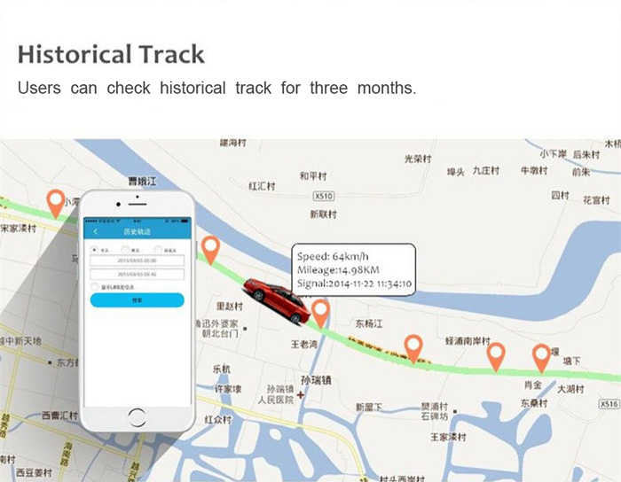 TK905 Strong Magnet GPS Real Time Tracking System