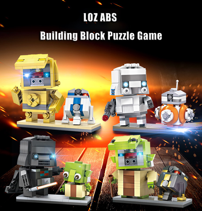 LOZ ABS Cute Movie Character Building Block DIY Toy for Kids - 245pcs