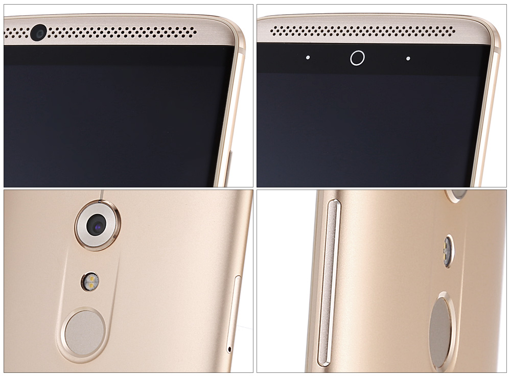 ZTE AXON 7 Android 6.0 5.5 inch 4G Phablet MSM8996 Quad Core 2GHz 4GB RAM 64GB ROM HiFi Fingerprint Scanner Bluetooth 4.1